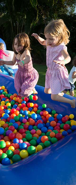Ball Pit at kids party